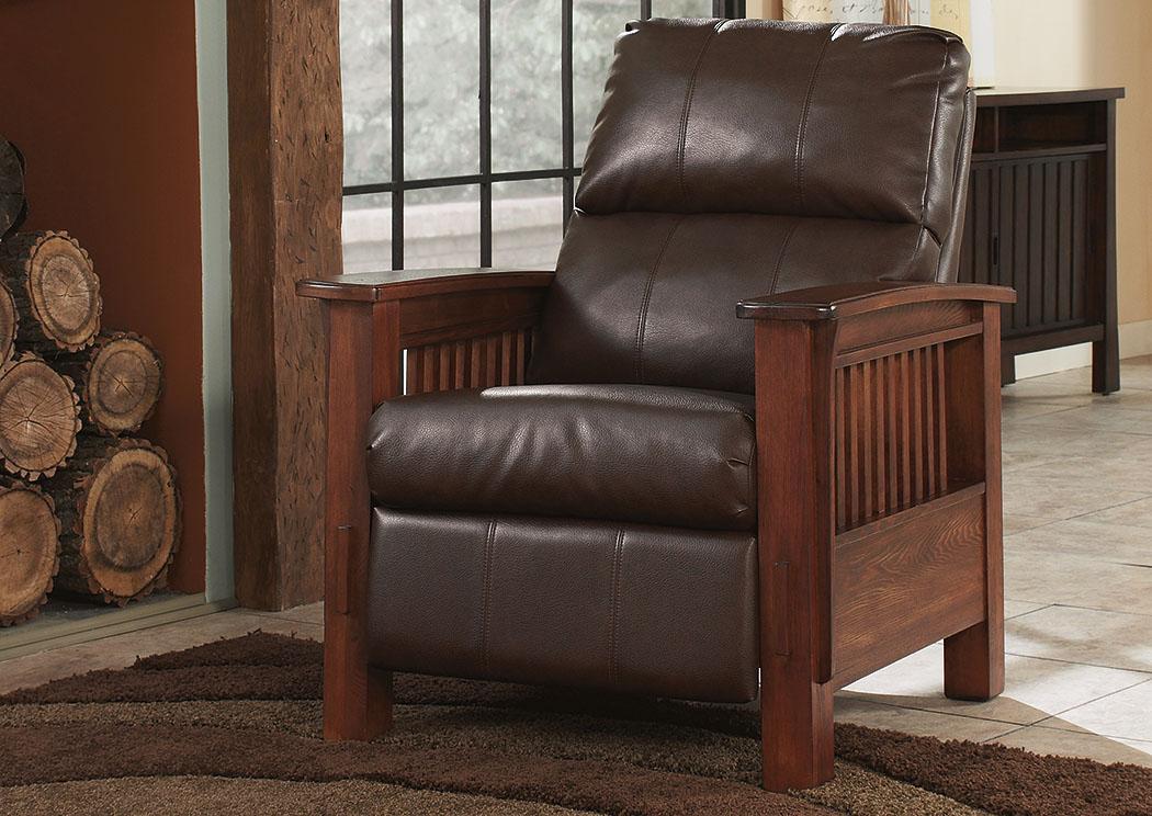 Ramos Furniture Santa Fe Bark High Leg Recliner