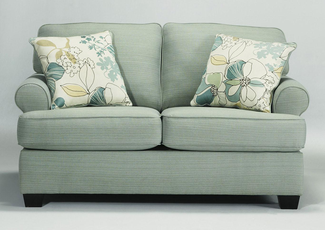 Cozi Furniture New Carrollton Md Daystar Seafoam Loveseat
