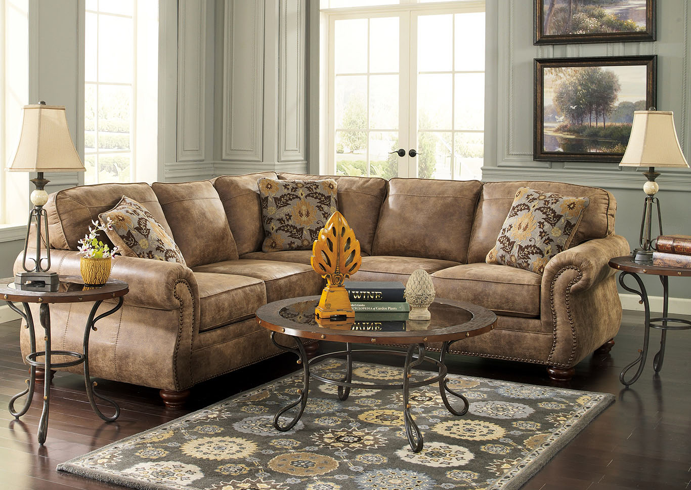Gibson Furniture Gallatin Hendersonville Nashville Tn Larkinhurst Earth Sectional
