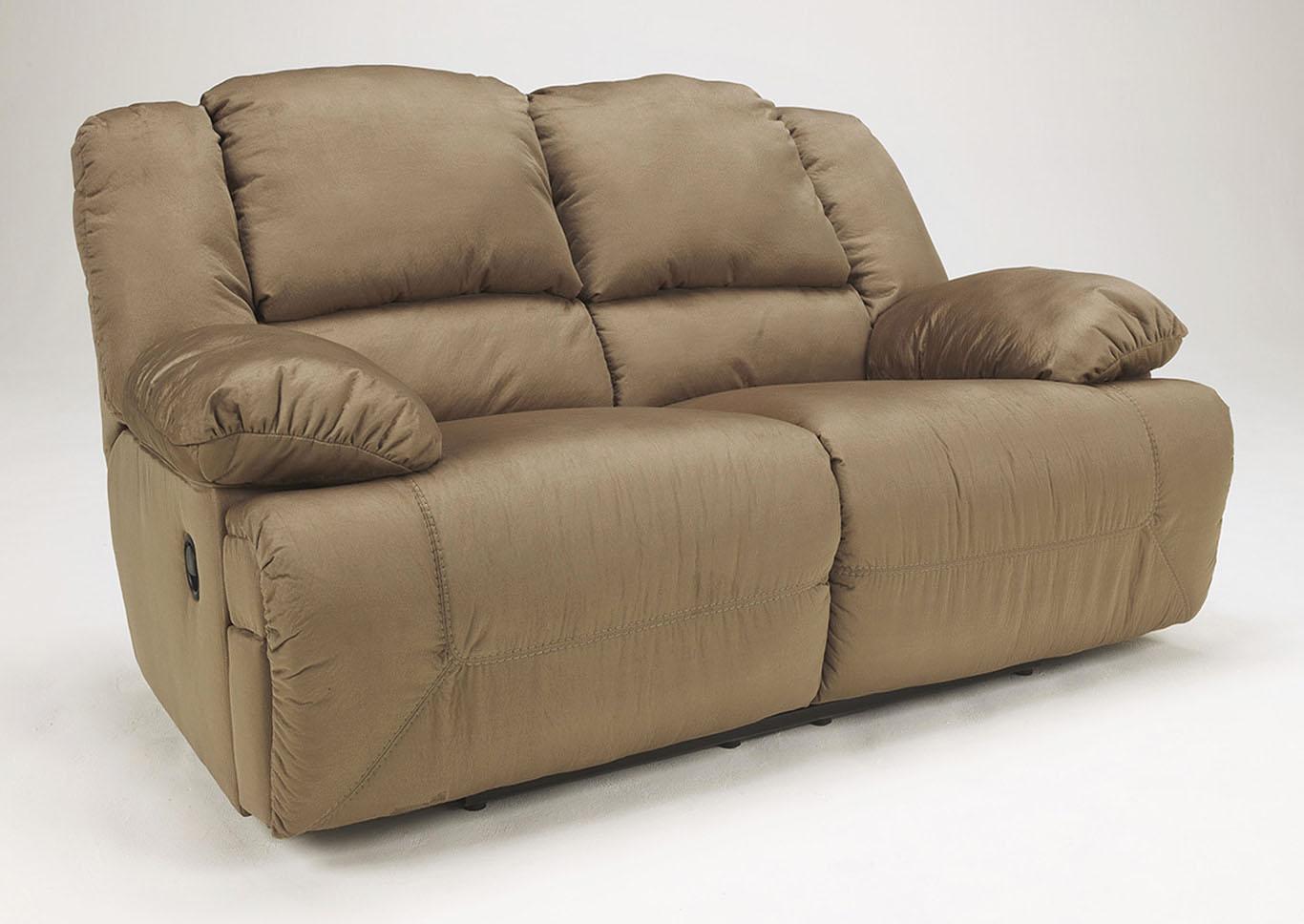 Furniture outlet chicago il hogan mocha reclining loveseat for Ashley hogan mocha pressback chaise