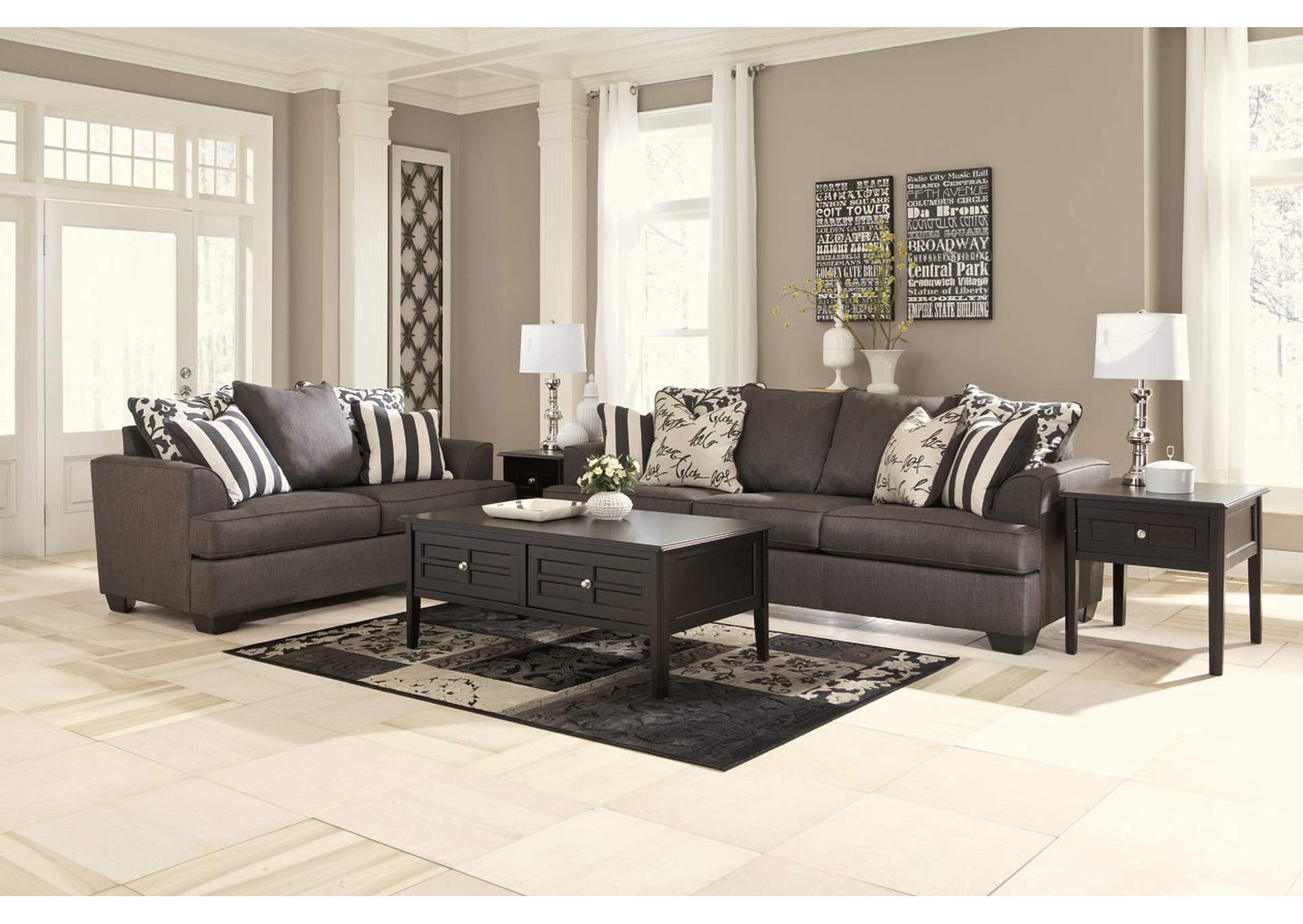 Jennifer Convertibles Sofas Sofa Beds Bedrooms Dining Rooms Amp More Levon Charcoal