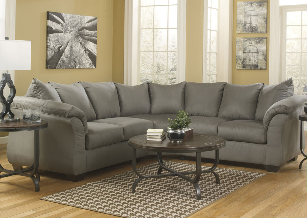 Furniture Outlet Chicago Il Darcy Cobblestone Sectional