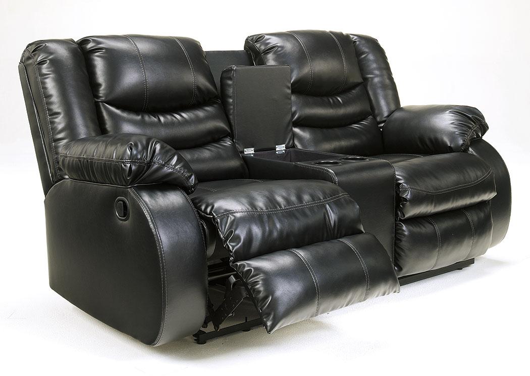 Ramos Furniture Linebacker DuraBlend Black Double