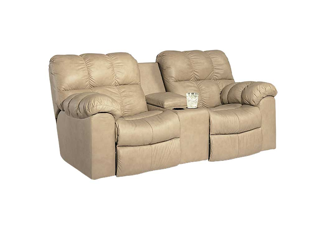 Max Chamois Swivel Rocker Recliner