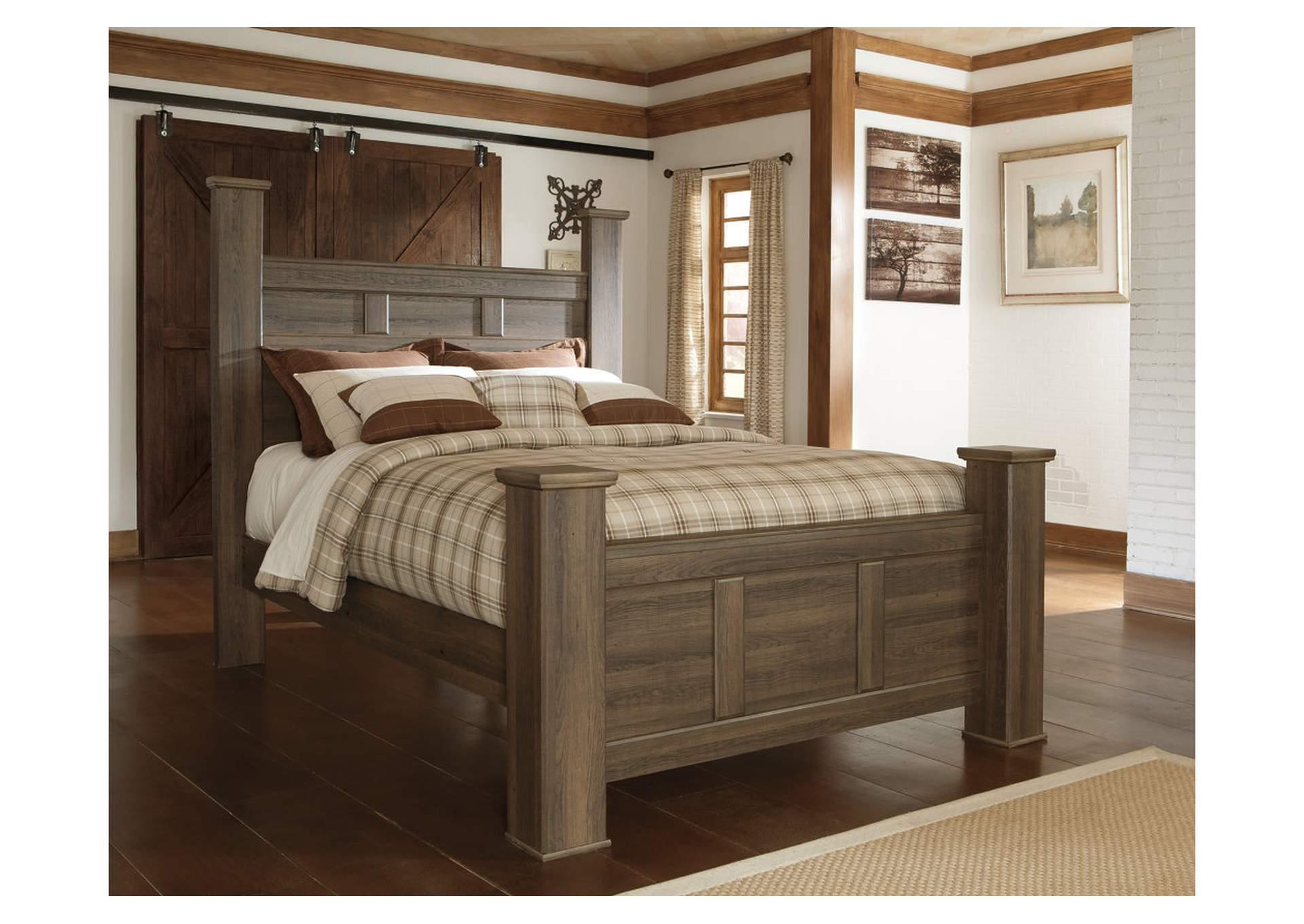 Ramos Furniture Juararo King Poster Bed