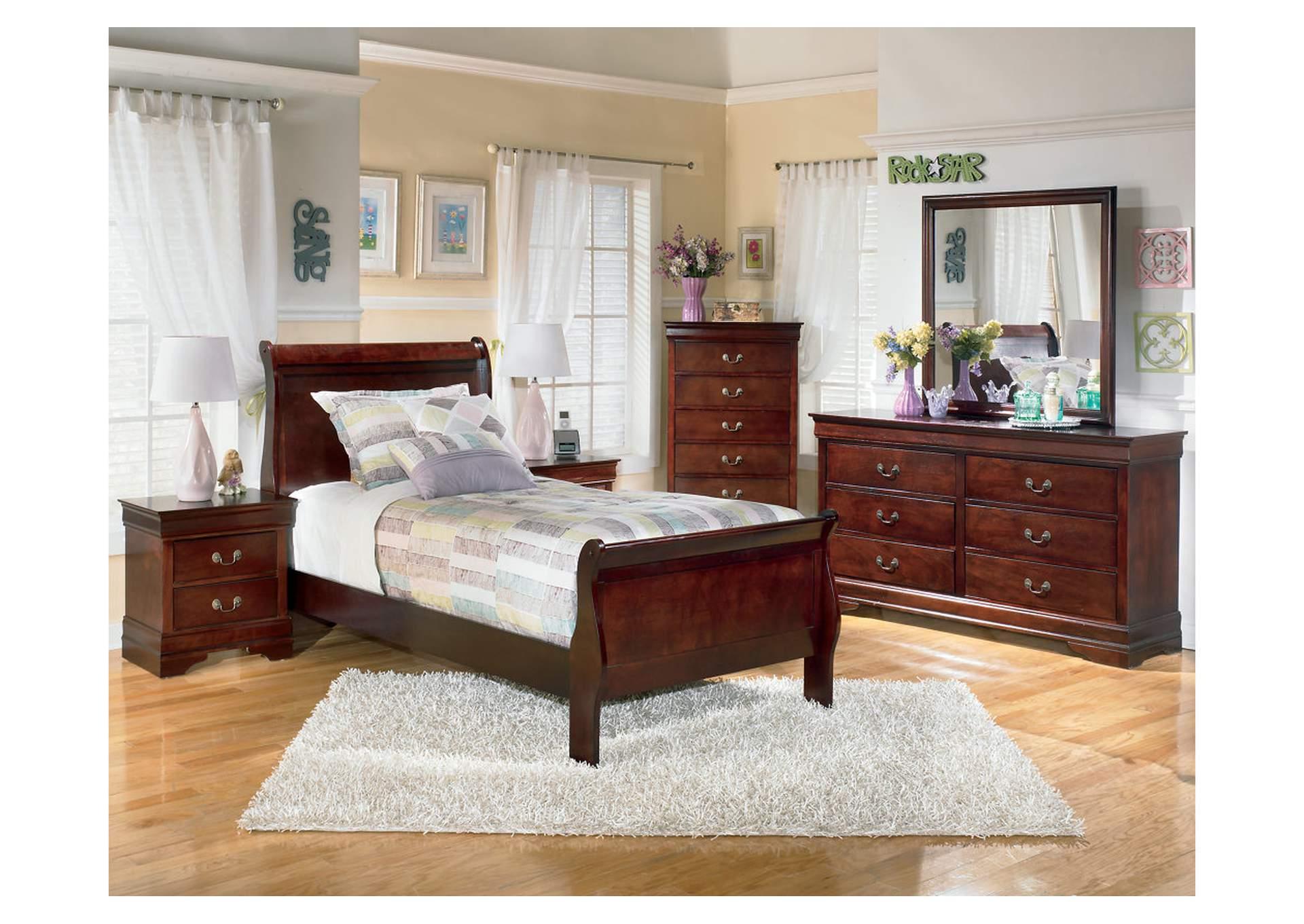 Ramos Furniture Alisdair Twin Sleigh Bed