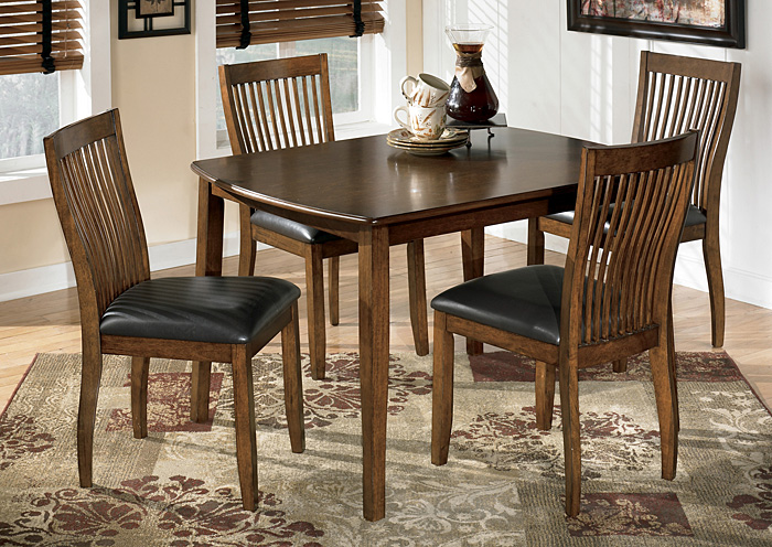 Ramos Furniture Stuman Dining Table w 4 Chairs