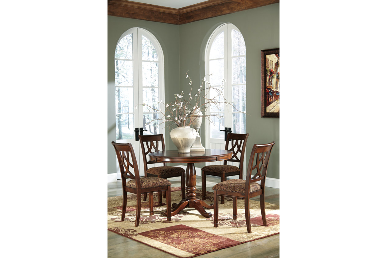 Paula Deen Home Round Dining Table W 4 Ladder Back Side Chairs Bed Mattress Sale