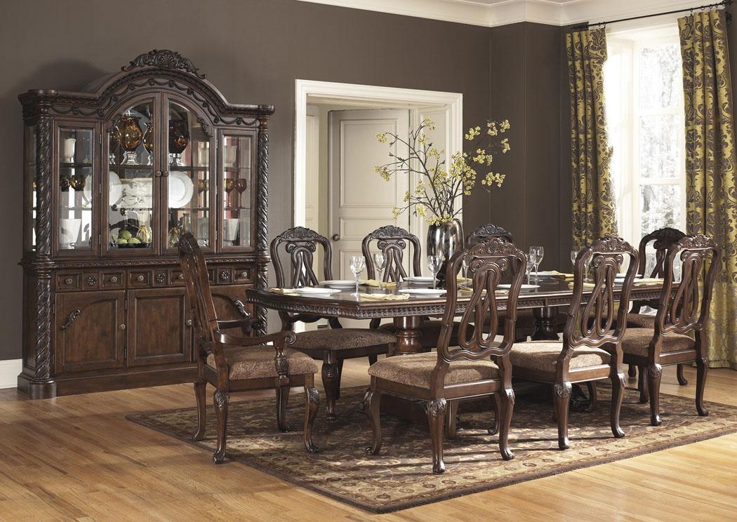 Ramos Furniture North Shore Rectangular Pedestal Table w