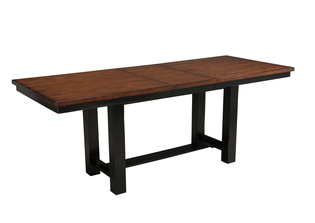 ... Rooms & More! Marileze Rectangular Counter Height Extension Table