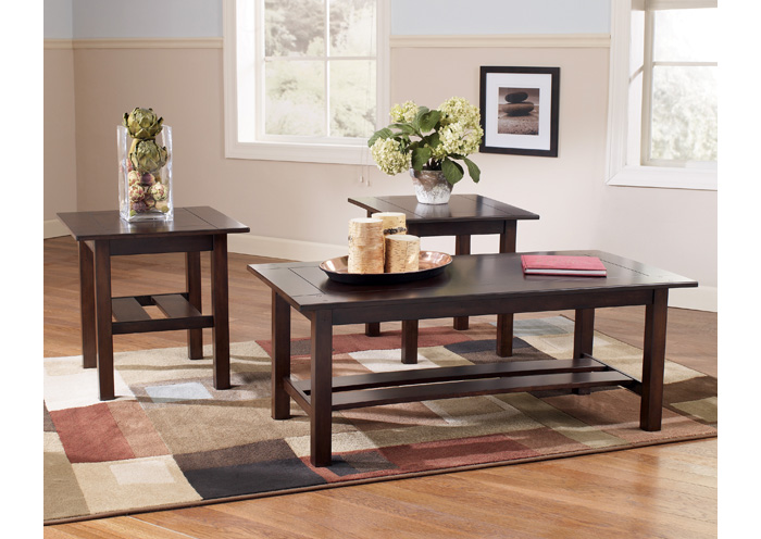 Best Buy Furniture And Mattress The Best For Less Lewis Occasional Table Set Cocktail 2 Ends