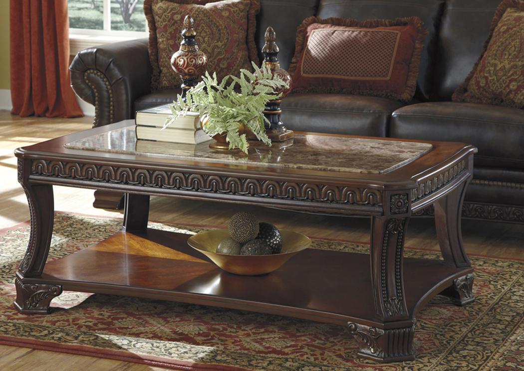 Ramos Furniture Ledelle Rectangular Cocktail Table