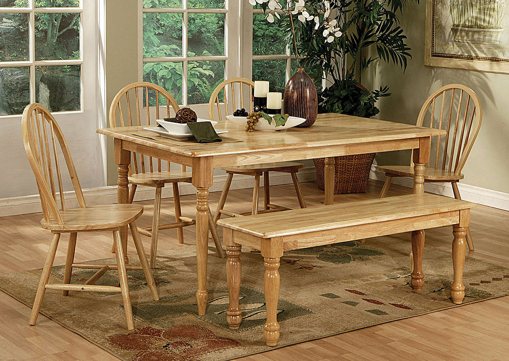 Bedrooms Dining Rooms More Butcher Block Farm Table W Turned Legs