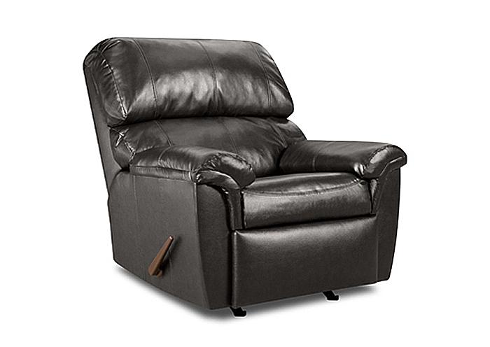 Affordable Furniture Houston Humble Tx Charcoal Rocker Recliner