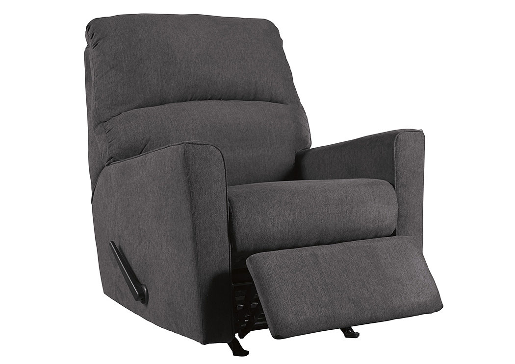 Alenya Charcoal Rocker Recliner,Signature Design By Ashley