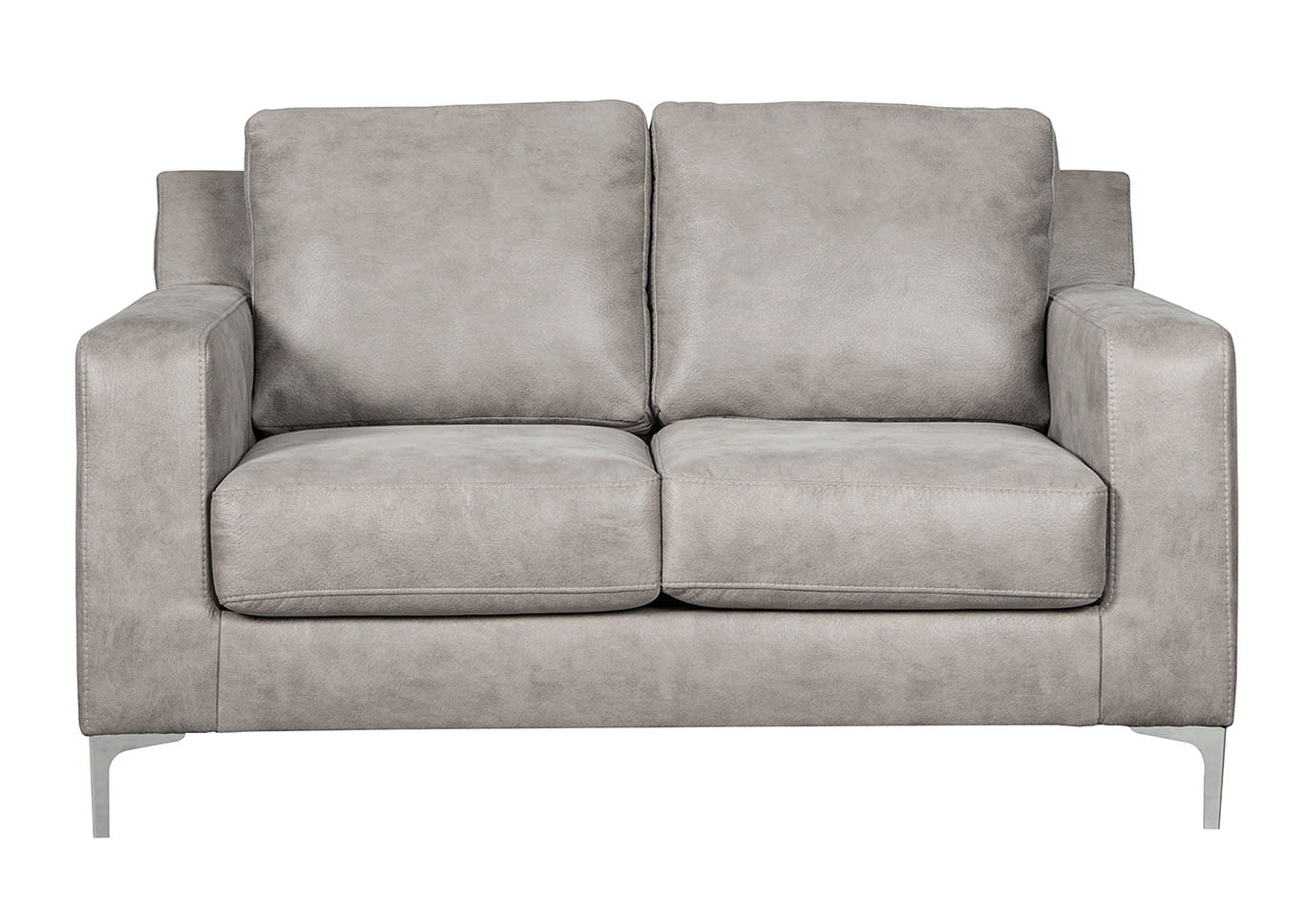 Ryler Steel Loveseat Signature Design By Ashley