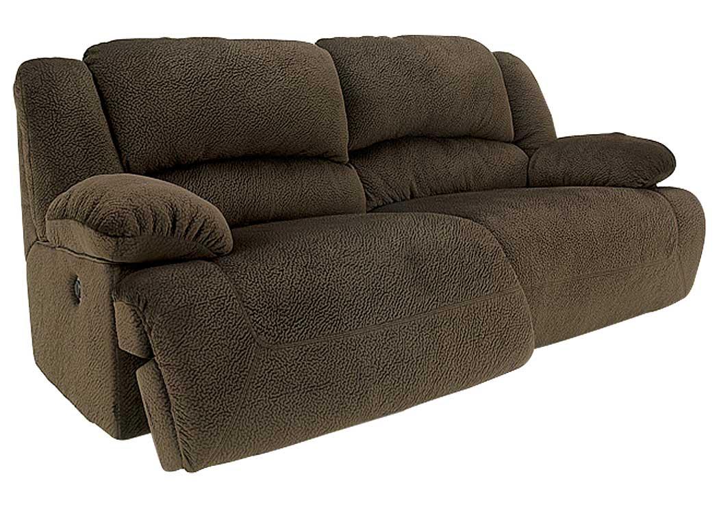 Majek Furniture Toletta Chocolate 2 Seat Reclining Sofa