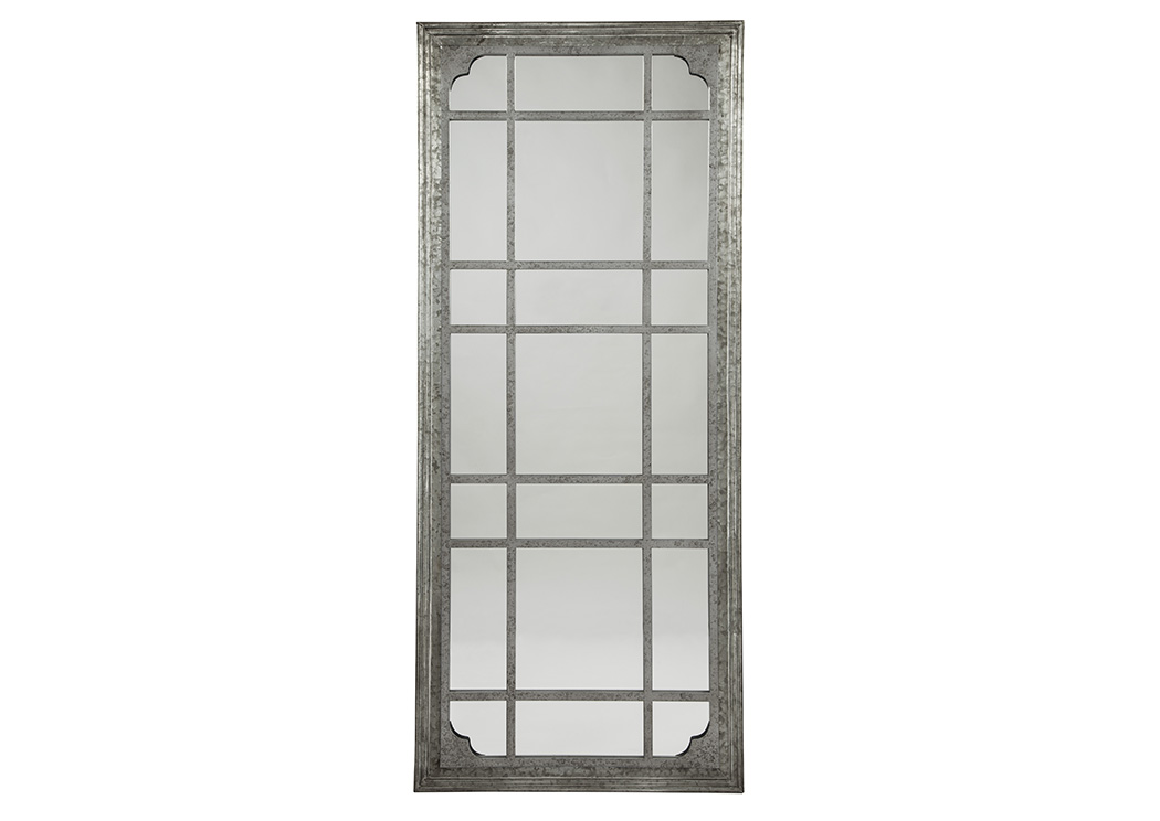 Remy Antique Gray Accent Mirror,Signature Design By Ashley