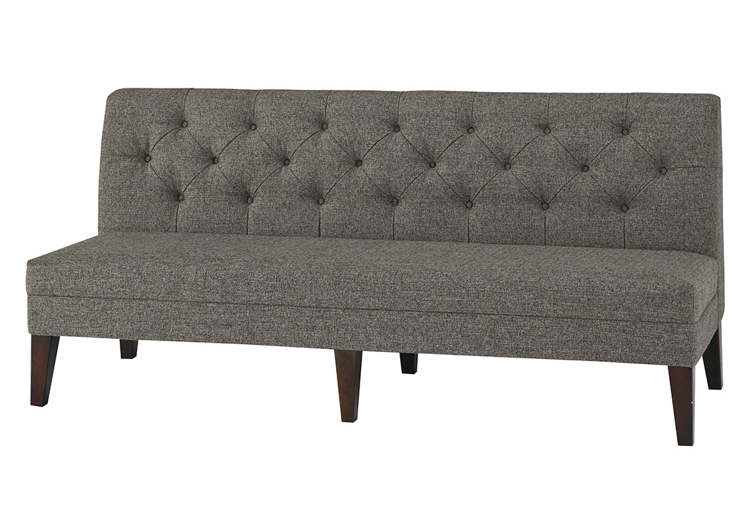 XL Upholstered Dining Bench,Signature Design By Ashley
