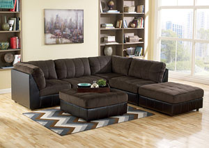 Hobokin Chocolate Modular Sectional