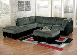Hobokin Pewter Modular Sectional