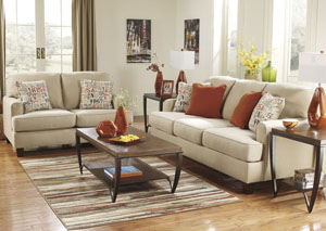 Deshan Birch Sofa & Loveseat