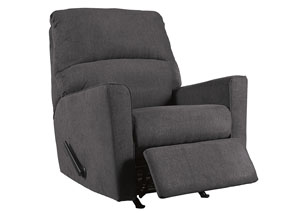 Alenya Charcoal Rocker Recliner