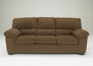 Zadee Chocolate Sofa
