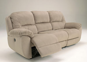 Maytime Putty Reclining Sofa