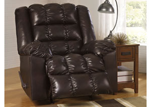 Hatton DuraBlend Truffle Rocker Recliner