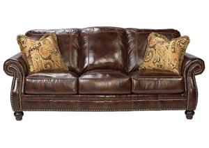 Graydon Park Dark Saddle Sofa