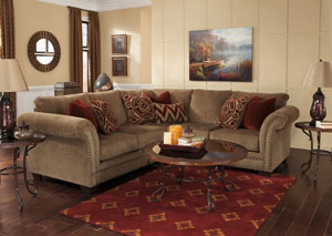 Grecian Amber Sectional