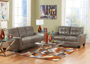 Paulie DuraBlend Quarry Sofa & Loveseat