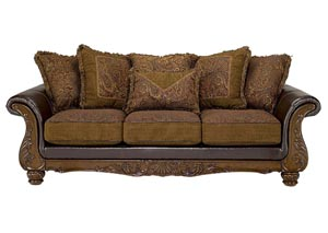 Wilmington Walnut Sofa