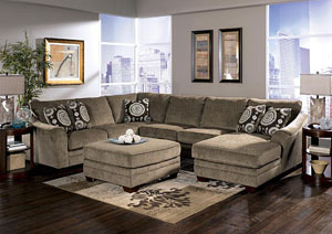 Cosmo Marble Sectional