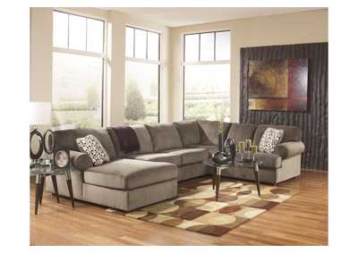 Jessa Place Dune Left Facing Chaise Sectional