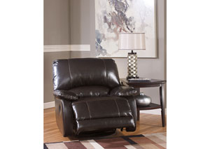 Capote DuraBlend Chocolate Swivel Glider Recliner