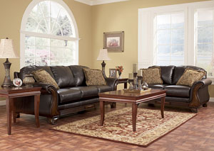 Riverton Java Sofa & Loveseat
