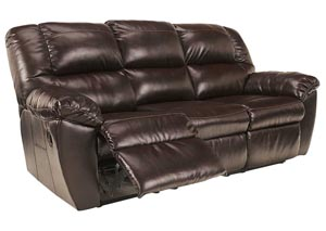 Rouge Mahogany Reclining Sofa