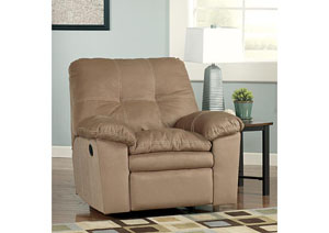 Mercer Mocha Rocker Recliner
