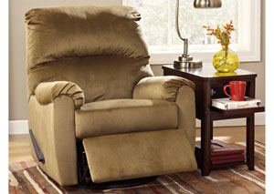 McFarin Hickory Swivel Glider Recliner