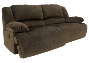 Toletta Chocolate 2 Seat Reclining Sofa
