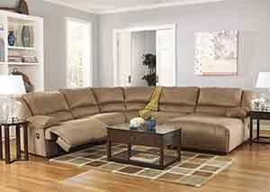 Hogan Mocha Reclining Sectional