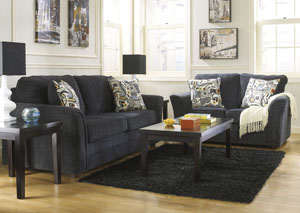 Devante Slate Sofa & Loveseat