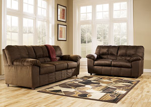 Dominator Cafe Sofa & Loveseat