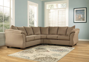 Darcy Mocha Sectional
