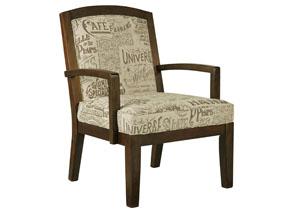 Nisland Muslin Accent Chair