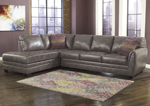 Sarai DuraBlend Left Facing Chaise-End Sectional