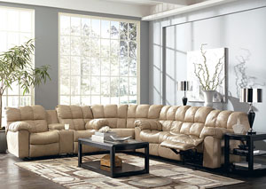 Max Chamois Reclining Sectional