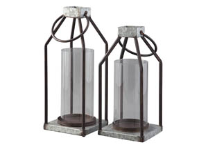 Diedrick Gray/Black Lantern Set (Set of 2)